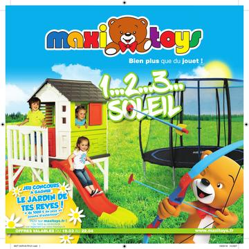 Catalogue Maxi Toys France 1...2...3... Soleil Printemps 2018