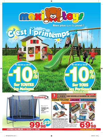 Catalogue Maxi Toys France C'est L'Printemps 2018