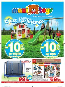 Catalogue Maxi Toys France C'est L'Printemps 2018 page 1