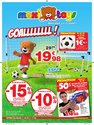 Catalogue Maxi Toys Goallllllll! 2018