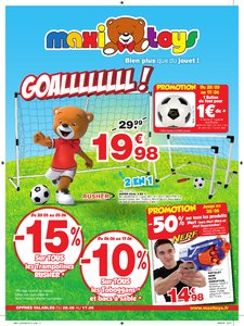Catalogue Maxi Toys Goallllllll! 2018 page 1