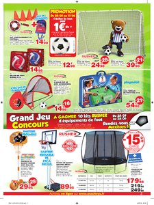 Catalogue Maxi Toys Goallllllll! 2018 page 3