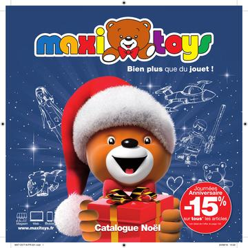 Catalogue Maxi Toys Noël 2018