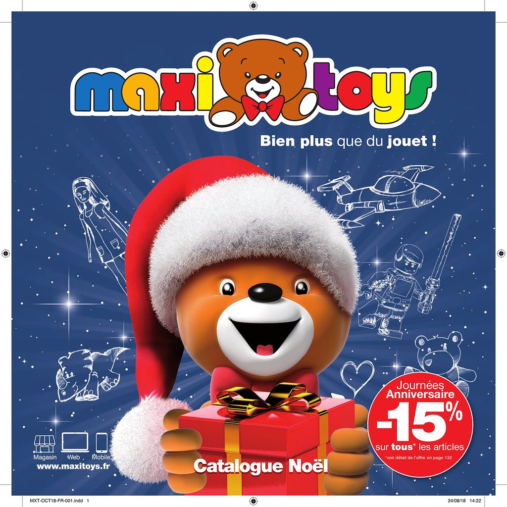 catalogue jouet noel 2018 toys Catalogue Maxi Toys Noël 2018 | Catalogue de jouets catalogue jouet noel 2018 toys