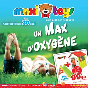 Catalogue Maxi Toys France Printemps 2019 page 1