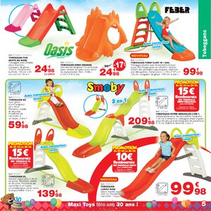 Catalogue Maxi Toys France Printemps 2019 page 5