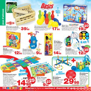 Catalogue Maxi Toys France Printemps 2019 page 14
