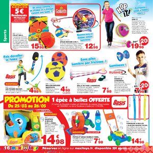 Catalogue Maxi Toys France Printemps 2019 page 16