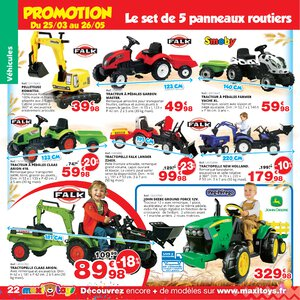 Catalogue Maxi Toys France Printemps 2019 page 22