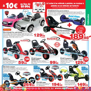 Catalogue Maxi Toys France Printemps 2019 page 23