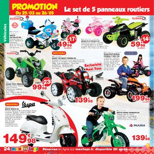 Catalogue Maxi Toys France Printemps 2019 page 24