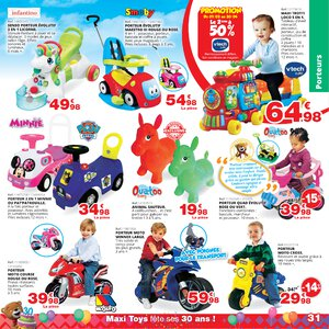 Catalogue Maxi Toys France Printemps 2019 page 31