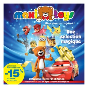 Catalogue Maxi Toys Belgique Noël 2017 page 1