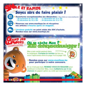 Catalogue Maxi Toys Belgique Noël 2017 page 2