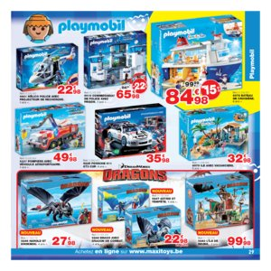 Catalogue Maxi Toys Belgique Noël 2017 page 29