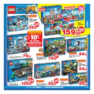 Catalogue Maxi Toys Belgique Noël 2017 page 31