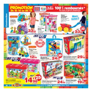 Catalogue Maxi Toys Belgique Noël 2017 page 34