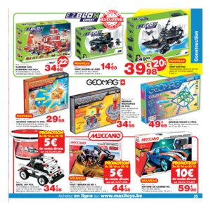 Catalogue Maxi Toys Belgique Noël 2017 page 35