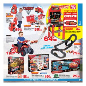 Catalogue Maxi Toys Belgique Noël 2017 page 37