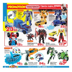 Catalogue Maxi Toys Belgique Noël 2017 page 42