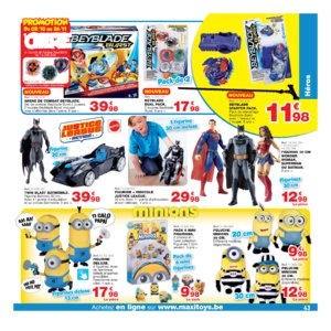 Catalogue Maxi Toys Belgique Noël 2017 page 43