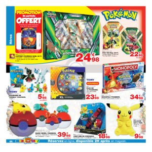 Catalogue Maxi Toys Belgique Noël 2017 page 44