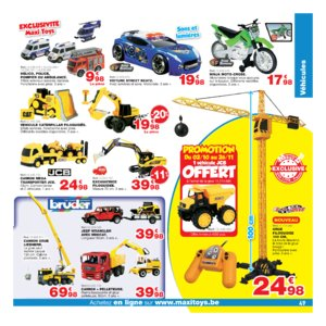 Catalogue Maxi Toys Belgique Noël 2017 page 49