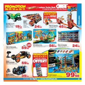 Catalogue Maxi Toys Belgique Noël 2017 page 51