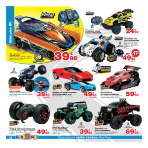 Catalogue Maxi Toys Belgique Noël 2017 page 54
