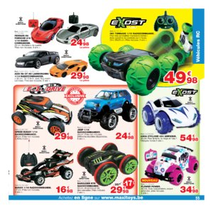 Catalogue Maxi Toys Belgique Noël 2017 page 55
