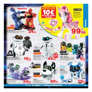 Catalogue Maxi Toys Belgique Noël 2017 page 57