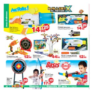 Catalogue Maxi Toys Belgique Noël 2017 page 60