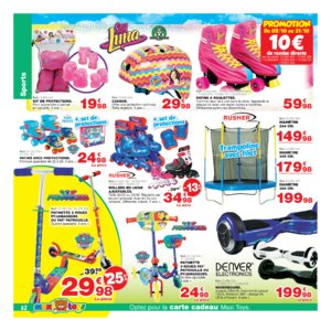 Catalogue Maxi Toys Belgique Noël 2017 page 62