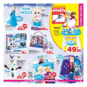 Catalogue Maxi Toys Belgique Noël 2017 page 67