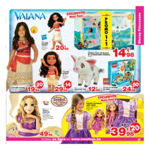 Catalogue Maxi Toys Belgique Noël 2017 page 69