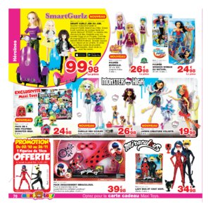 Catalogue Maxi Toys Belgique Noël 2017 page 70