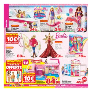 Catalogue Maxi Toys Belgique Noël 2017 page 72