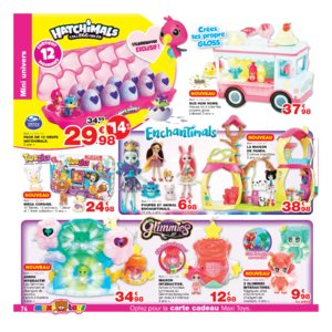 Catalogue Maxi Toys Belgique Noël 2017 page 74