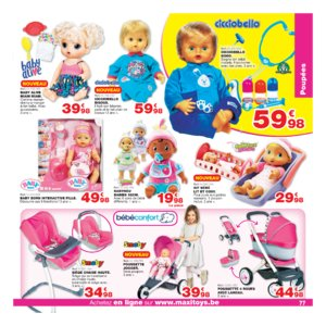 Catalogue Maxi Toys Belgique Noël 2017 page 77