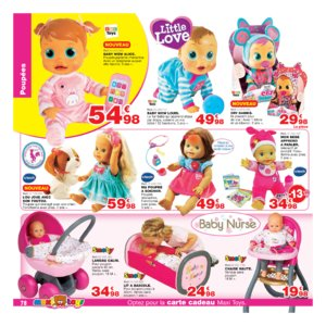 Catalogue Maxi Toys Belgique Noël 2017 page 78