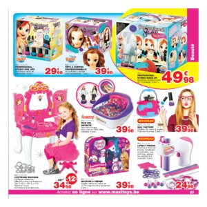 Catalogue Maxi Toys Belgique Noël 2017 page 89