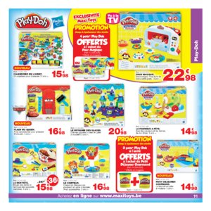 Catalogue Maxi Toys Belgique Noël 2017 page 91
