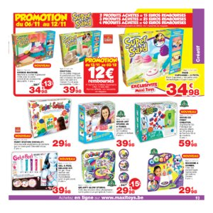 Catalogue Maxi Toys Belgique Noël 2017 page 93
