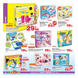 Catalogue Maxi Toys Belgique Noël 2017 page 94