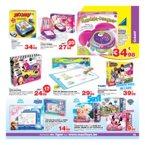 Catalogue Maxi Toys Belgique Noël 2017 page 95