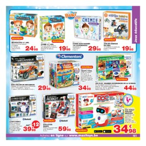 Catalogue Maxi Toys Belgique Noël 2017 page 101
