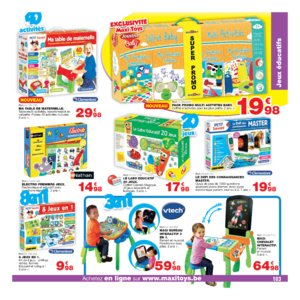 Catalogue Maxi Toys Belgique Noël 2017 page 103