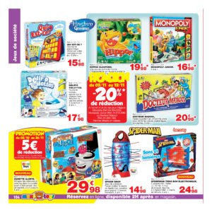 Catalogue Maxi Toys Belgique Noël 2017 page 104