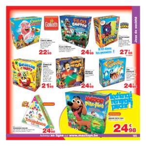 Catalogue Maxi Toys Belgique Noël 2017 page 105