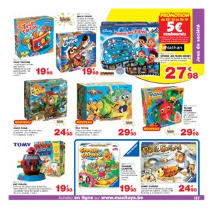 Catalogue Maxi Toys Belgique Noël 2017 page 107